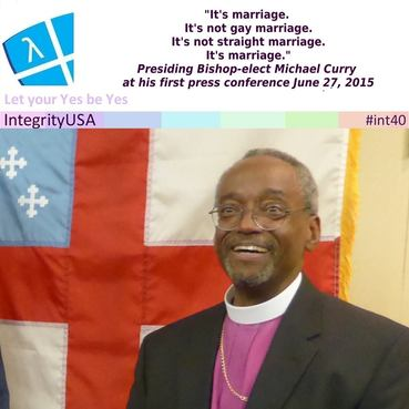 Most Reverend Michael Curry